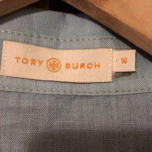 Tory Burch Tops - Tory Burch Brigitte Linen Blouse